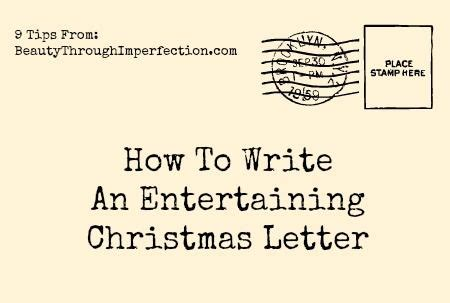 write  amazing christmas letter christmas