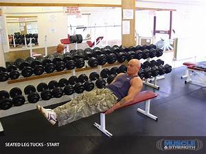 Seated Leg Tucks  Video Exercise Guide  U0026 Tips