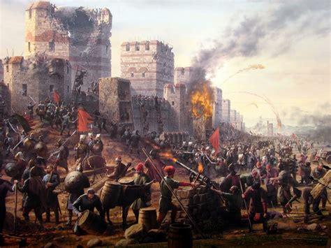 siege of constantinople siege