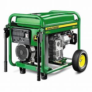 Shop John Deere 8,000-Running Watts Portable Generator