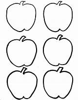 Coloring Apple Pages Apples Fall Sheets Lily Sheet Clipart Printables sketch template