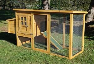 Poulailler Pas Cher 4 Poules : poulailler en bois cottage avec pondoir animaloo ~ Melissatoandfro.com Idées de Décoration
