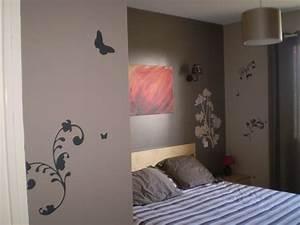 couleur chambre marron clair 214710 gtgt emihemcom la With photo peinture salon 2 couleurs 6 peinture chambre bebe couleur taupe et crame