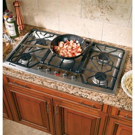 ge zgunsmss monogram  stainless steel gas cooktop natural gas