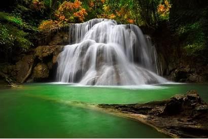 Waterfall Landscape Nature Backgrounds Desktop Wallpapers Mobile