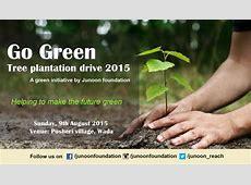 Go Green Tree Plantation Drive 2015 at Wada, Maharashtra