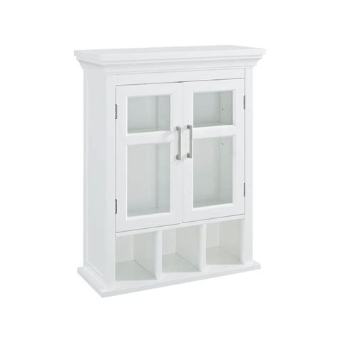 glass door wall cabinet simpli home avington 23 63 100 in w x 30 in h x 10 in d