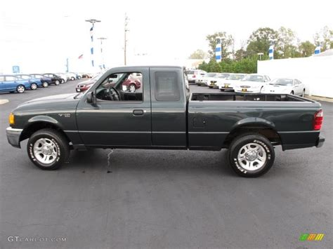 ranger ford 2005 2005 dark green satin metallic ford ranger xlt supercab