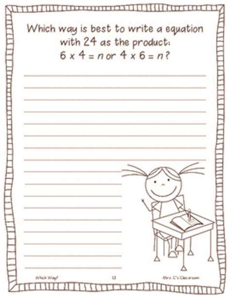 math journal writing prompts   year common core