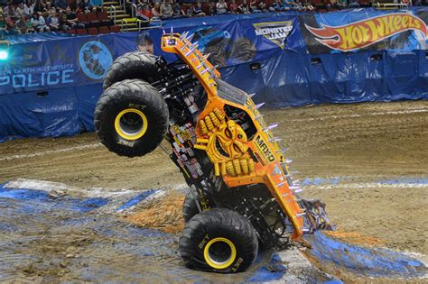 monster truck show atlanta ga falcons playoff game moves monster truck show to march 5