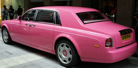 The Pink Rolls Royce Phantom