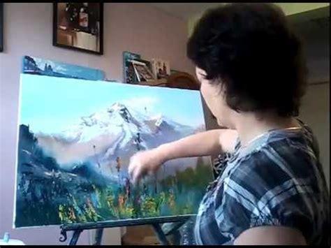 alpenwiese berge malen malstunde mit tatiana siekmann