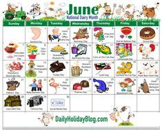 June National Holiday Calendar