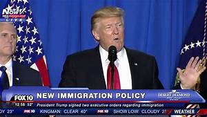 FNN: President Trump Details Why A Border Will Help The US ...
