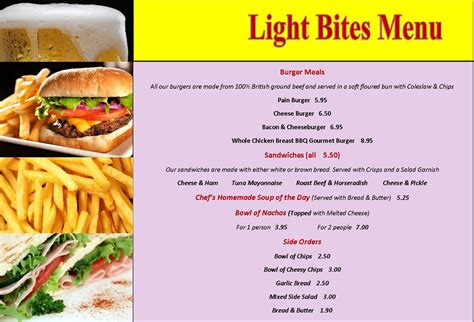 Light Bites by Food In Bournemouth Great Value Homecooked Food