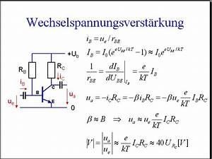 Spannungsabfall Am Widerstand Berechnen : 13 schaltungen mit transistoren i ~ Themetempest.com Abrechnung