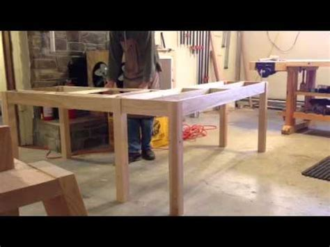 shaped desk design youtube