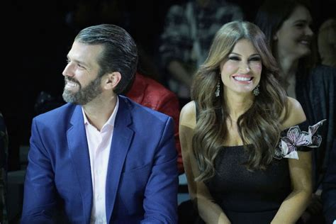 trump guilfoyle kimberly donald jr girlfriend getty entertainment adviser joined campaign senior america