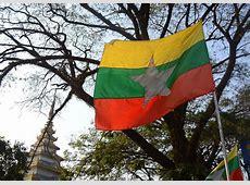 Graafix! Myanmar Burma Flag