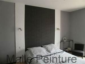 Tete De Lit Maison : deco tete de lit en peinture maison design ~ Zukunftsfamilie.com Idées de Décoration