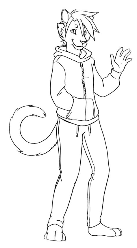 furry coloring pages    print