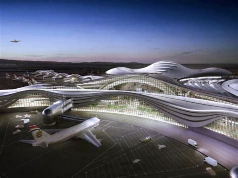futuristic airport designs