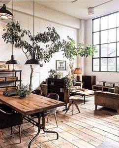 25, Gorgeous, Industrial, Living, Room, Ideas, For, 2020