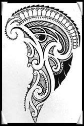polynesian designs and patterns | polynesian_artwork_tattoodesign | Maori & Polynesian