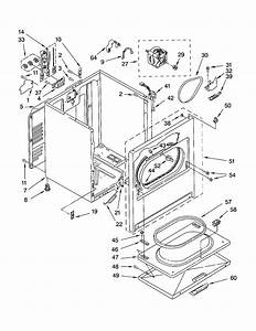 Kenmore Model 11062802101 Residential Dryer Genuine Parts
