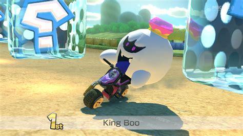 king boo luigis mansion mario kart  skin mods