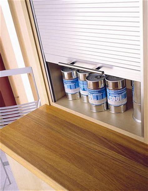 Hafele Tambour Units / Roller Shutter Kitchen Units
