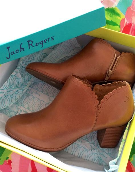 jack rogers  excited    scallop edge booties style show