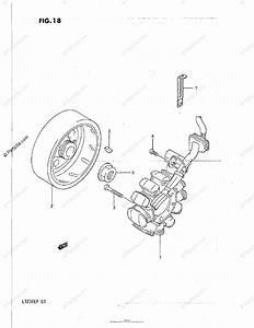 Suzuki Atv 1987 Oem Parts Diagram For Magneto