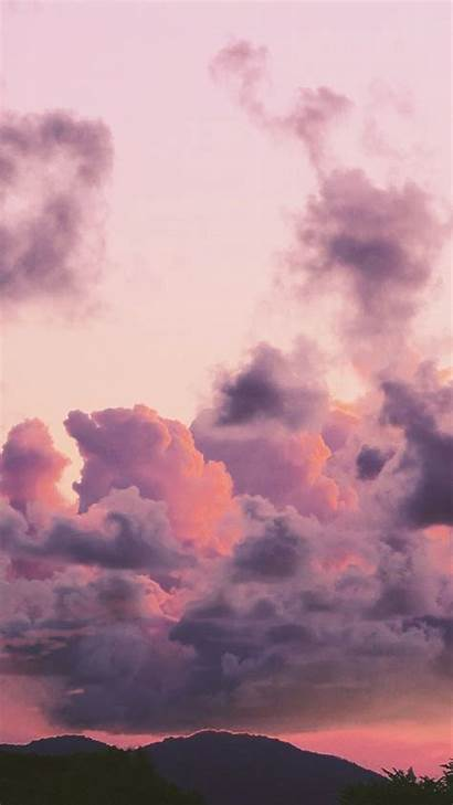Aesthetic Clouds Cloud Wallpapers Sky Backgrounds Violet