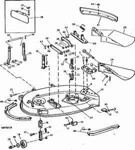 Images About John Deere 111 Mower Deck Parts Diagram