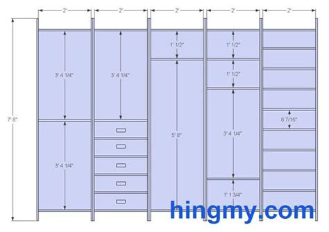 designing  built  closet projects closet layout