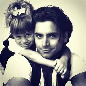 Michelle and Uncle Jesse Full House