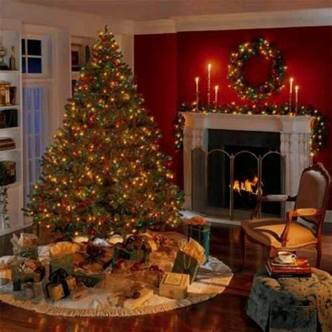 beautiful christmas fireplace decorating ideas