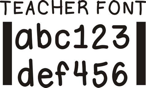 colorful fonts  teachers images  outline
