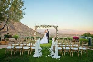 scottsdale wedding venues best outdoor wedding ceremony and reception venue in scottsdale az