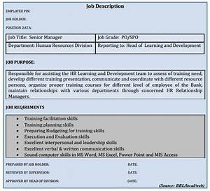training needs assessment for banking assignment point With training officer job description template