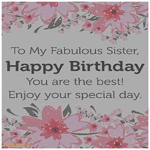 Doc.#500500: Greeting Cards for Sister Birthday – Happy ...