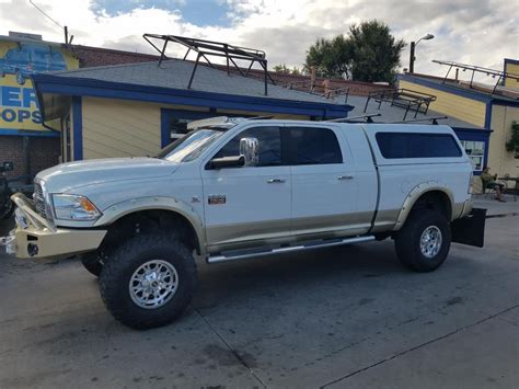 2011 Ram 2500, V Series, Rack, Lightbars   Suburban Toppers