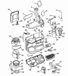 Cuisinart Coffee Maker Parts Diagram