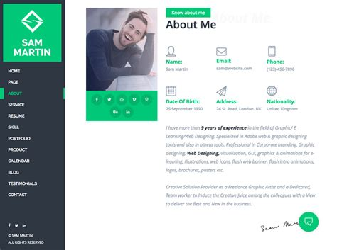 20 best resume themes for your personal website