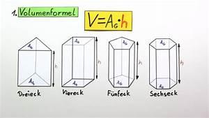 Volume Berechnen : volumen und oberfl che eines prismas berechnen mathematik sofatutor ~ Themetempest.com Abrechnung