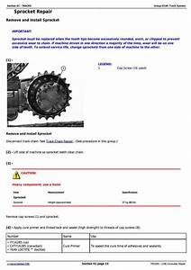 John Deere 120c Excavator Service Repair Manual  Tm1935