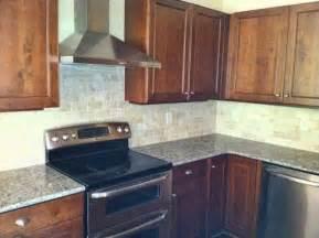 Houzz Kitchen Tile Backsplash Ivory Tile Backsplash Traditional Kitchen Atlanta By Cr Home Design K B Construction