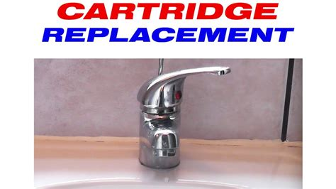 replacing single handle kitchen faucet how to replace the cartridge in a mixer tap
