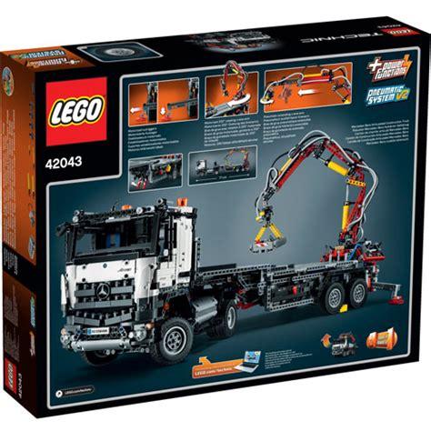lego 42043 technic mercedes arocs 3245 lego technic mercedes arocs 3245 42043 5702015349741 ebay